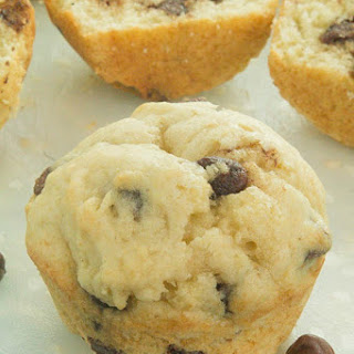 Easy Chocolate Chip Muffins.