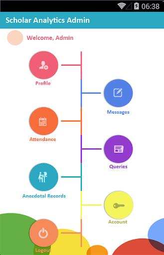 Scholar Analytics' Admin App