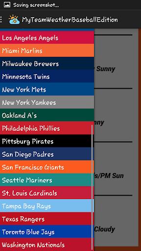 My Team Weather Baseball Ed.