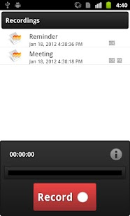 Voice Record - screenshot thumbnail