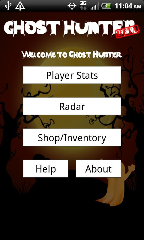 Ghost Hunter- screenshot