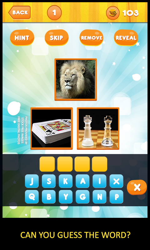 3 Pictures: Guess the Word - screenshot