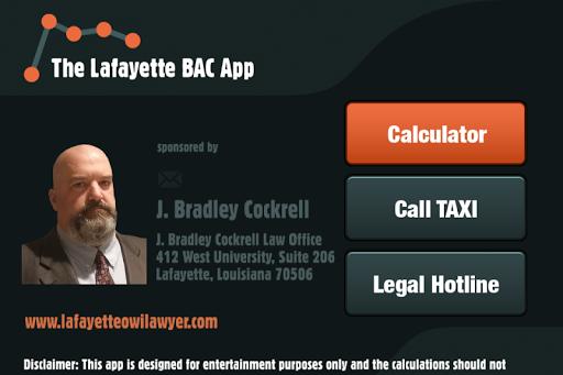 The Lafayette BAC App