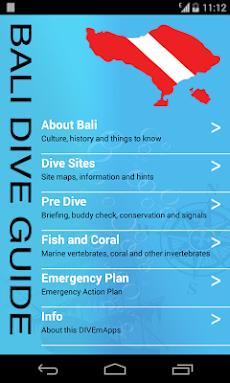 DIVEmAppsバリ島ダイビングガイドのおすすめ画像1