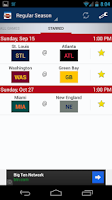 Screenshot of Football Schedule 2014