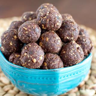 Chocolate Covered Peanut Energy Bites