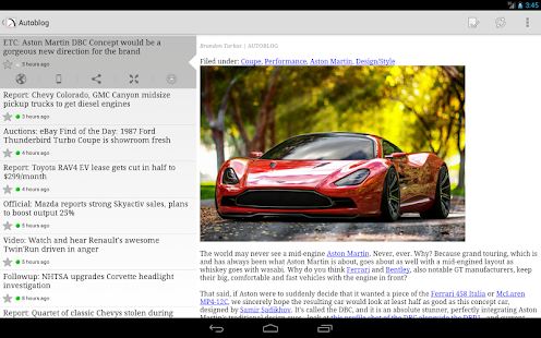 FeedR News Reader - screenshot thumbnail