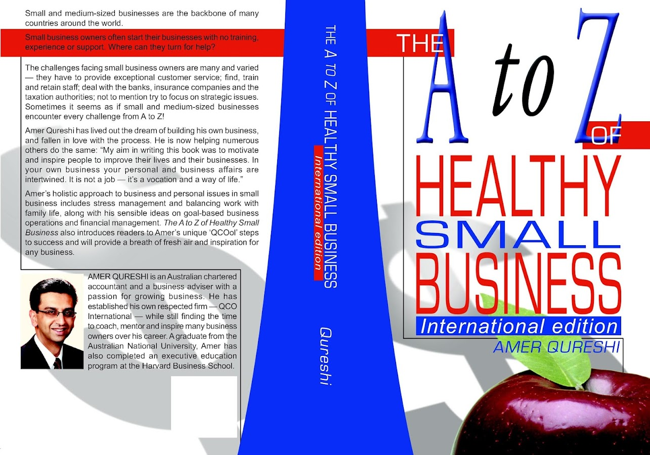 AtoZ of Healthy Small Business- screenshot