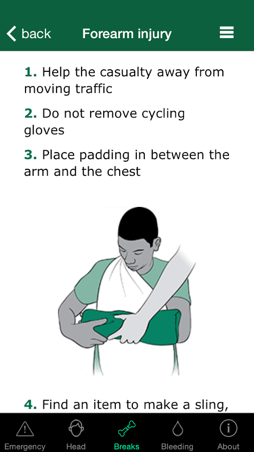 First Aid For Cyclists- screenshot