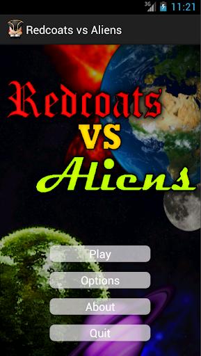 Redcoats vs Aliens