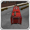 Firefighters Car Parking 3D icon