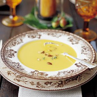 Cream of Butternut Squash and Apple Soup