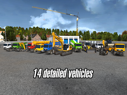 Construction Simulator 2014 v1.11 Mod APK+OBB 7
