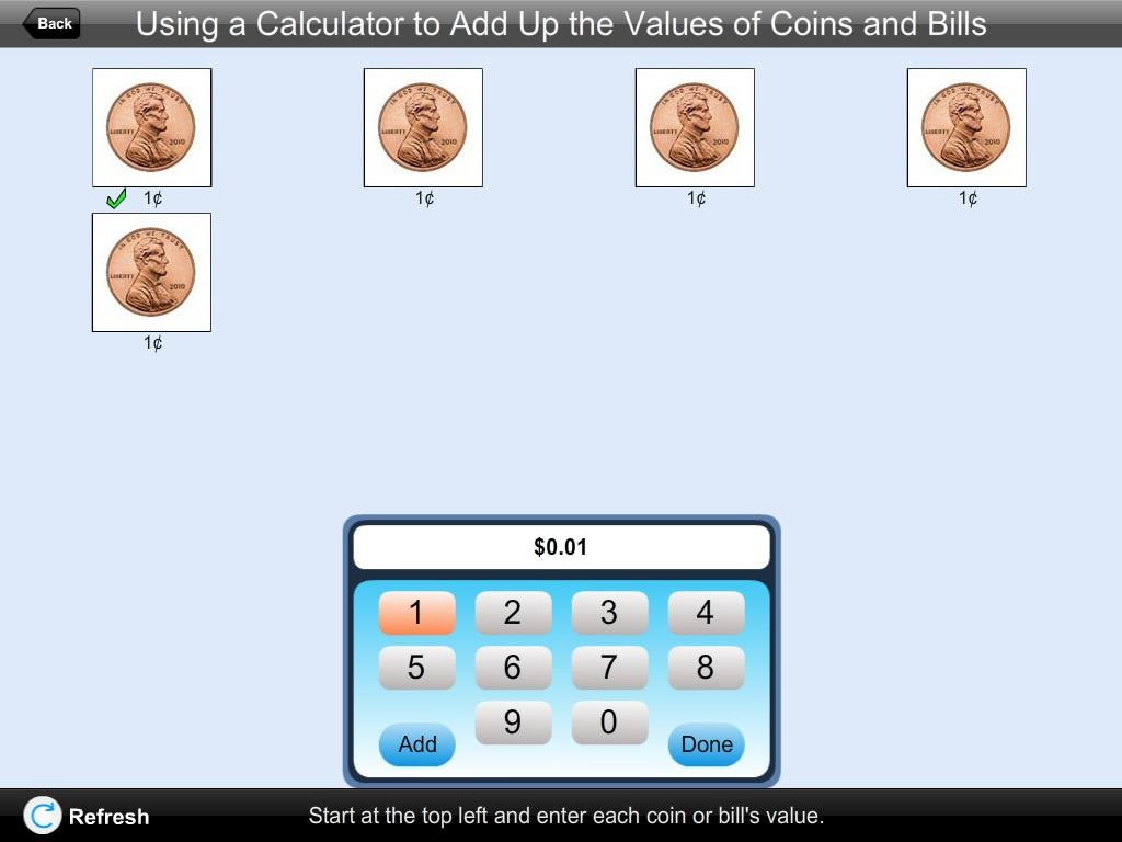American Currency Calculator- screenshot