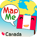 MapMe Canada logo