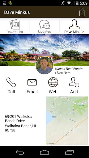 Dave Minkus Hawaii Real Estate