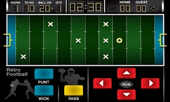 Screenshot of Retro Football