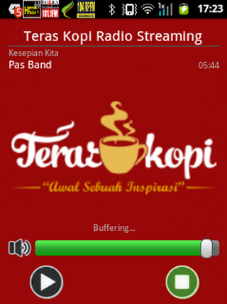 【免費娛樂App】Teras Kopi Radio Streaming-APP點子