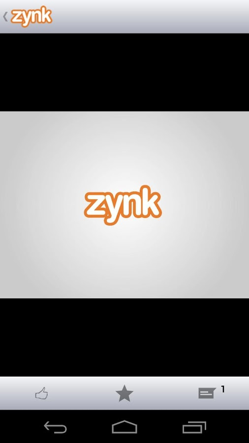 Zynk - screenshot