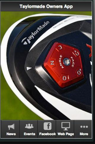 Taylormade Golf Owners App