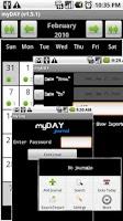 Screenshot of myDAY Journal (Demo)