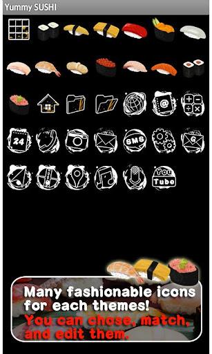 Yummy SUSHI Wallpaper Theme 1.2 Windows u7528 4
