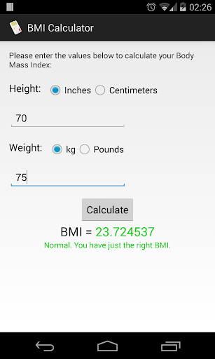 【免費健康App】BMI Calculator-APP點子