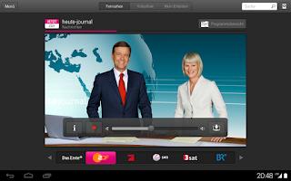 Screenshot of Entertain to go
