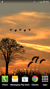 Sunset Live Wallpaper screenshot