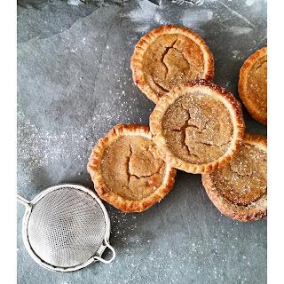 Gluten Free Parsnip & Cinnamon Tarts.