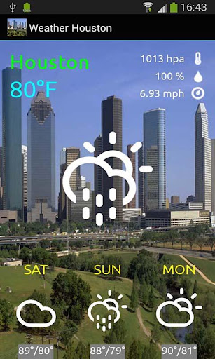 Weather Houston Forecast