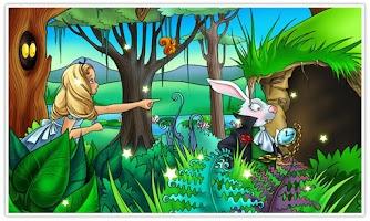 Screenshot of Alice in Wonderland Kids Book