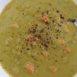 Smoky Split Pea & Carrot Soup