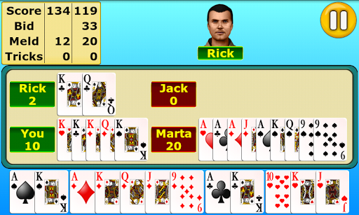Pinochle  gameplay | by HackJr.Pw 6