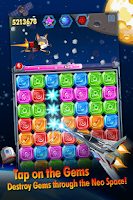 Screenshot of Diamond Space - Jewel Dash
