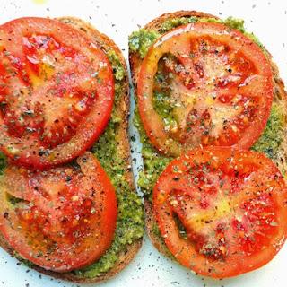 Roasted Tomato Pesto Melt