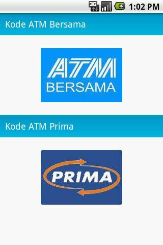 Kode ATM Bersama Prima