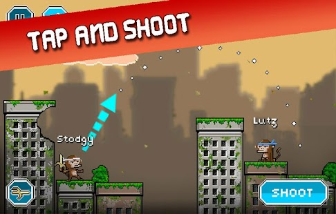 City Monkey: Pixel Artillery Screenshot 16