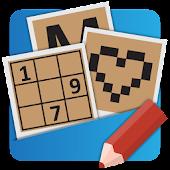 Crosswords, Sudoku, Nonograms