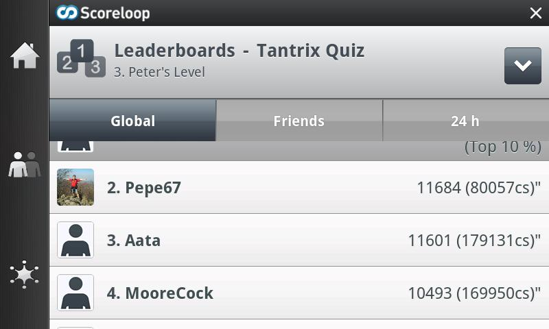 Tantrix Quiz - screenshot