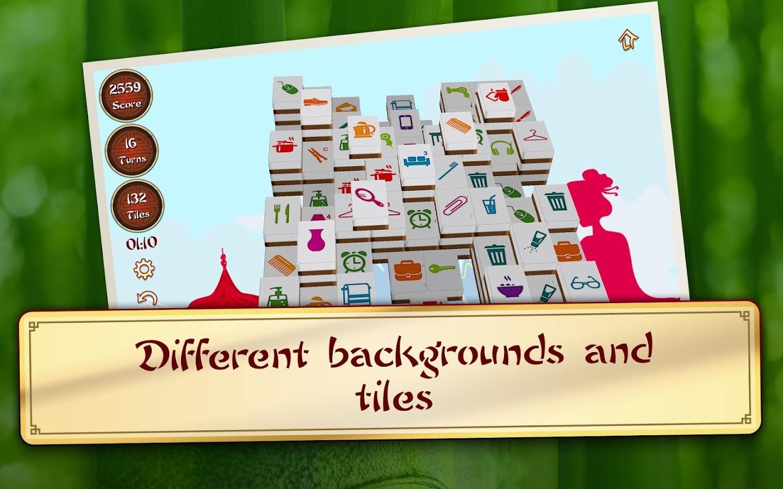 3D Mahjong Mountain- screenshot