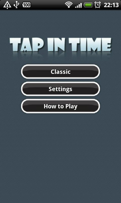 Tap in Time - screenshot