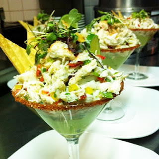 Crab Margarita Appetizer