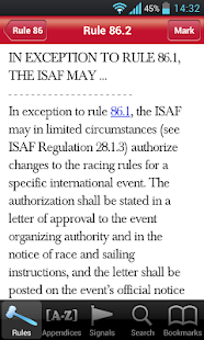 The Racing Rules of Sailing - screenshot thumbnail
