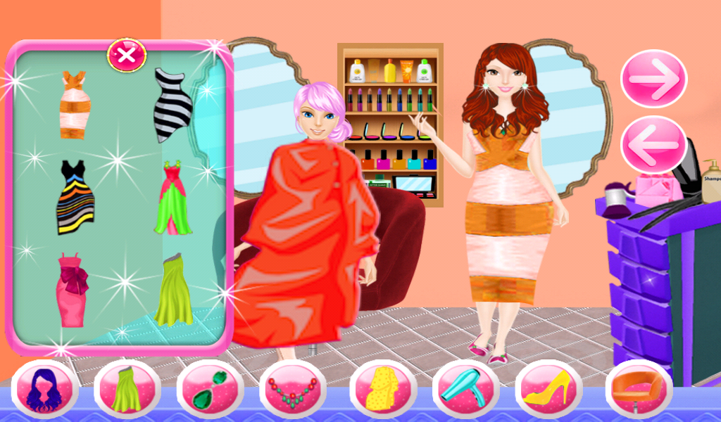 Dress up barber girls games - Android Apps on Google Play