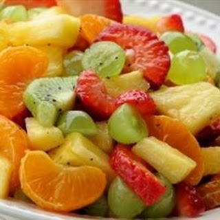 Tangy Poppy Seed Fruit Salad.