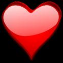 Hearts Live Wallpaper 3D Pro icon