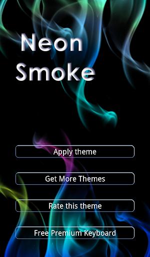 Neon Smoke Keyboard