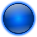 Blue Sphere Go Launcher Theme icon
