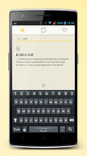 Бестолковый словарь для андроид